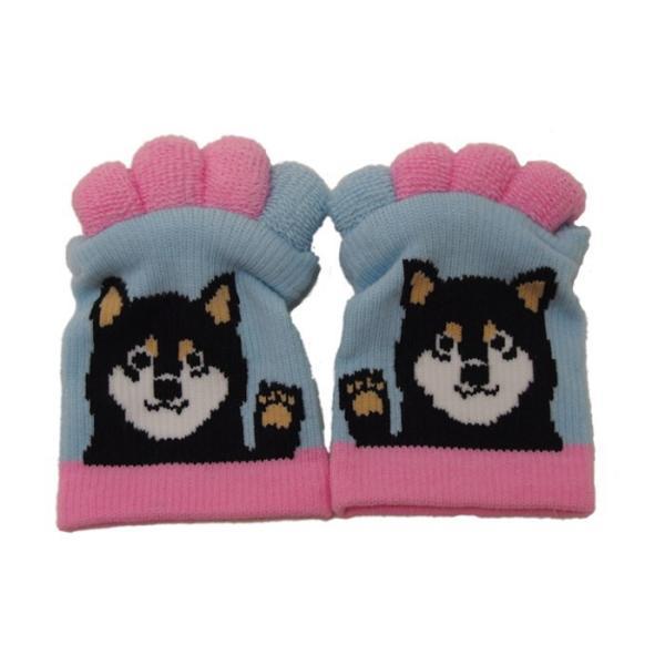 即出荷 足指ソックス 足指 広げる 5本指 靴下 ソックス ネイル ペディキュア リラックス フットケア ストレッチ かわいい ネコ イヌ|piglet|19