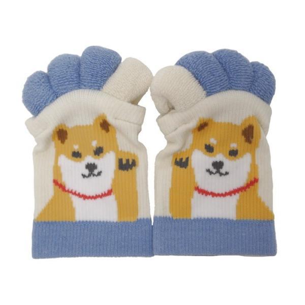 即出荷 足指ソックス 足指 広げる 5本指 靴下 ソックス ネイル ペディキュア リラックス フットケア ストレッチ かわいい ネコ イヌ|piglet|22