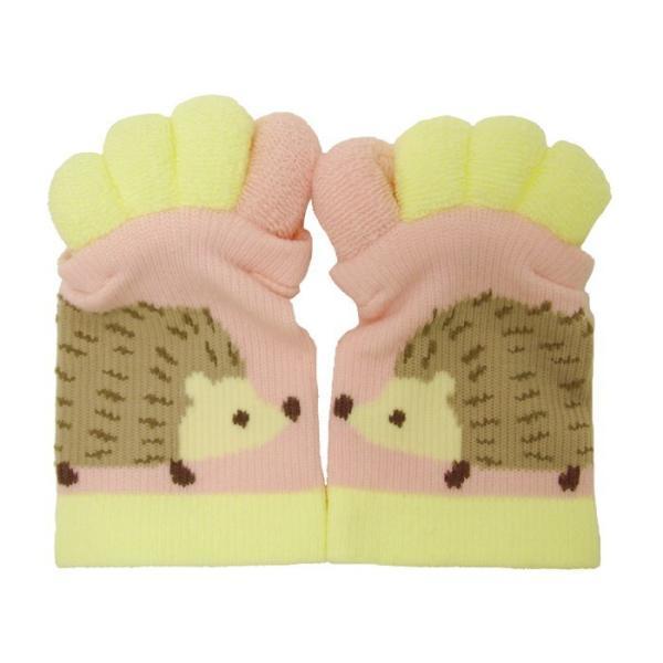 即出荷 足指ソックス 足指 広げる 5本指 靴下 ソックス ネイル ペディキュア リラックス フットケア ストレッチ かわいい ネコ イヌ|piglet|24