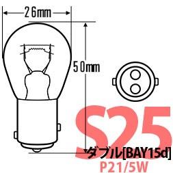 s25dの純正球同等サイズはコチラ