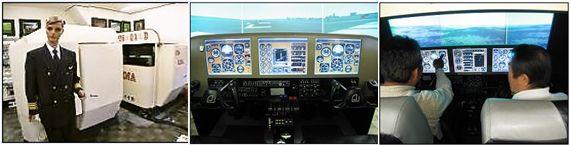 エフエスシーマは、他飛行訓練・操縦訓練・