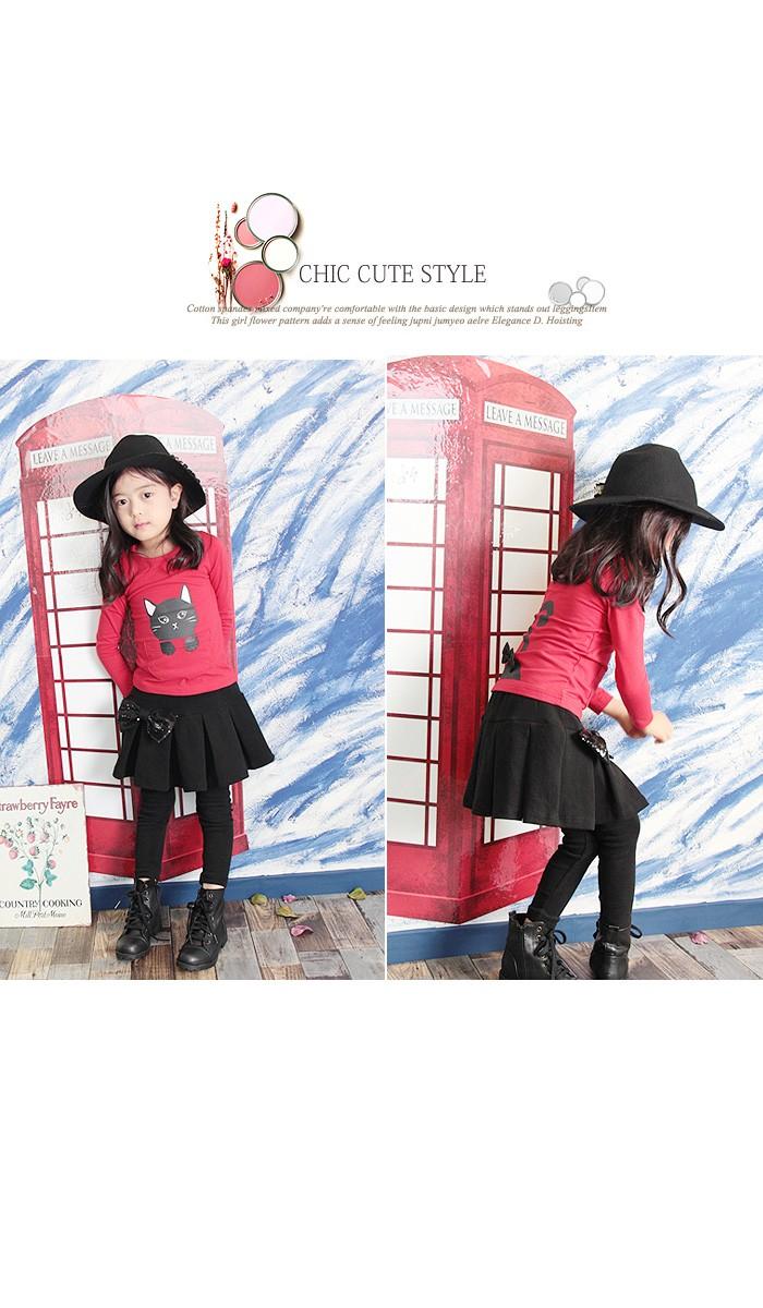 330db97a27e9d スカート付きレギンス スカートパンツ 子供服 女の子 スカッツ レギンス ...