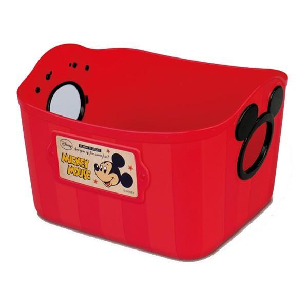 ギフト包装不可 おもちゃ箱 収納 やわらかバケツ SQ5 四角 錦化成 洗濯カゴ ベビー ディズニー Disney ボックス カラーボックス プレゼント ギフト|pinkybabys|04