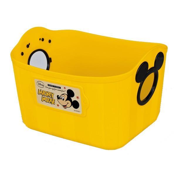 ギフト包装不可 おもちゃ箱 収納 やわらかバケツ SQ5 四角 錦化成 洗濯カゴ ベビー ディズニー Disney ボックス カラーボックス プレゼント ギフト|pinkybabys|05