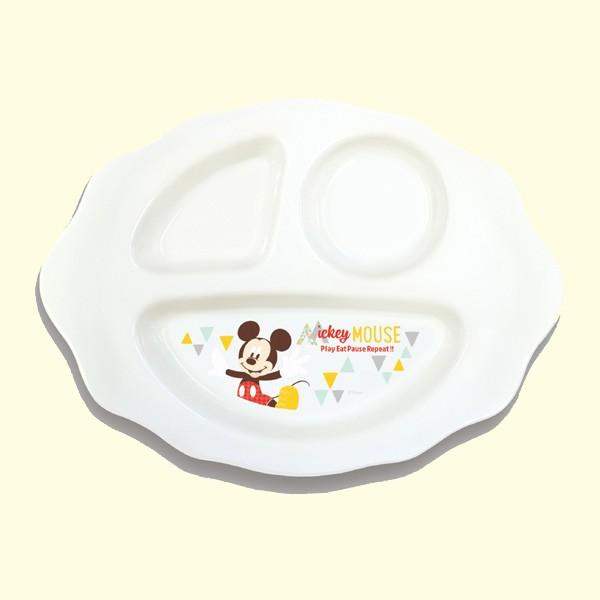 ベビー食器 はじめてのベビー食器 プレート 錦化成 食事 食器 ディズニー Disney ランチプレート ベビー 出産 お祝い ギフト プレゼント お食い初め 日本製|pinkybabys|03