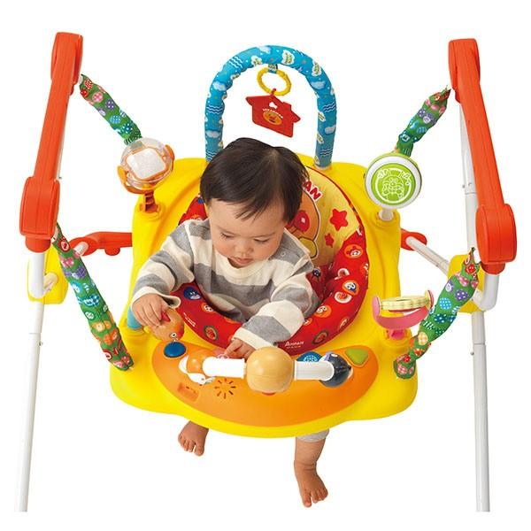 アンパンマン,ベビージャンパー,トランポリン,赤ちゃん用,出産祝いにもオススメ,ジャンプ