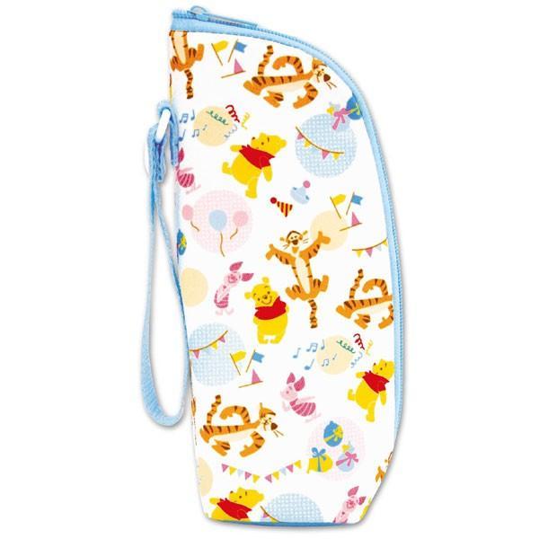 哺乳瓶 哺乳びんポーチ ミッキー ミニー プーさん クーザ ほ乳びん ペットボトルホルダー ディズニー Disney ベビー 出産祝い 赤ちゃん ミルク ほ乳ビン ポーチ|pinkybabys|05