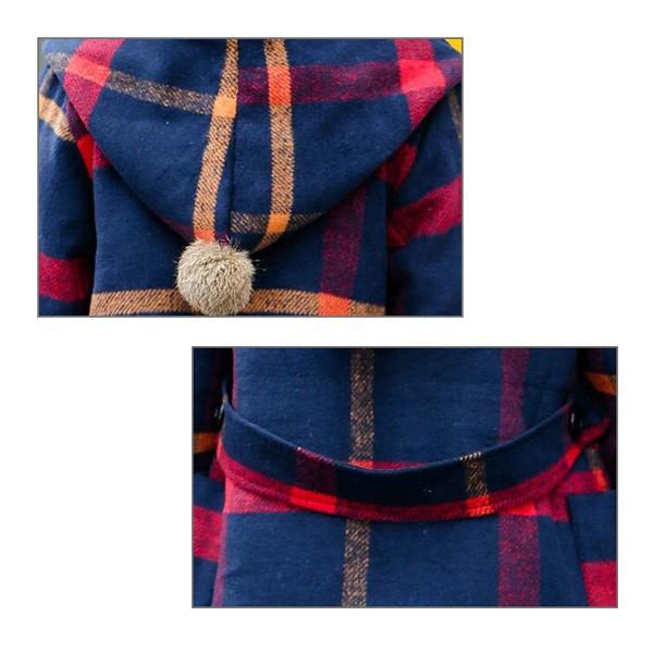 子供服 男女兼用 フード付きラシャコート 韓国子供服 アウター ジャケット ブルゾン ジャンバー 秋冬