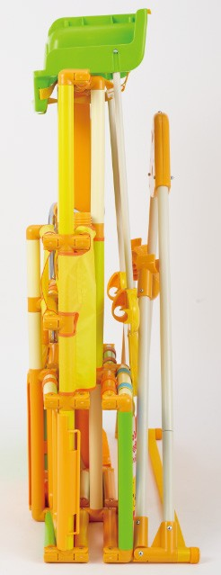 くまのプーさん 折りたたみロングスロープキッズパークSP,ジャングルジム,室内遊具,スポーツ玩具,3段タイプ,ディズニー