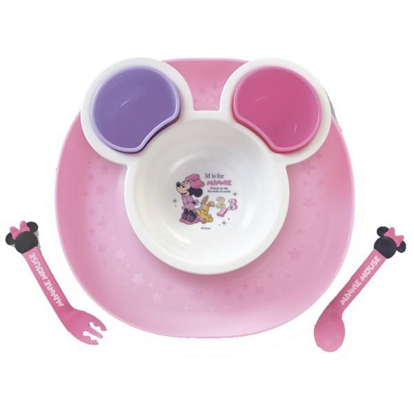 ベビー食器 食べこぼしキャッチプレート 錦化成 食事 食器 皿 ディズニー Disney ランチプレート ベビー 出産 お祝い ギフト プレゼント お食い初め 離乳食|pinkybabys|05