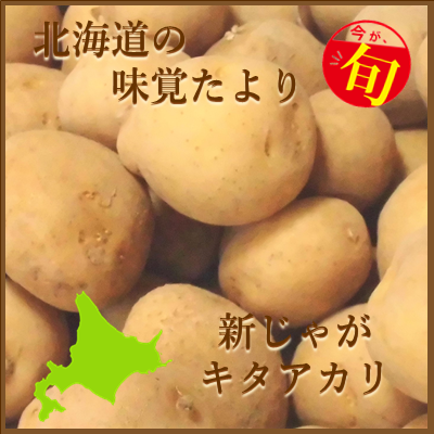 北海道の味覚便り キタアカリ(ジャガイモ)