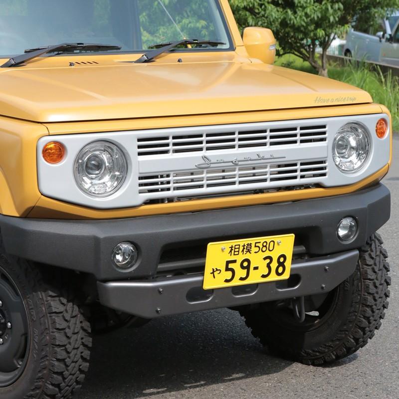 新型ジムニー/ジムニーシエラ JB64/74W用 APIO「ヴィンテージアイアングリル」アピオ 北海道・沖縄・離島別途送料加算|piston|10