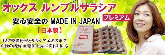 栄養機能食品 オックス ルンブルサラシア プレミアム 40カプセル シートタイプ ミミズ乾燥粉末 ミミズエキス ミミズ酵素