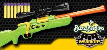 Buzz Bee Toys Air Warriors バズビートイズ エアウォーリアーズ