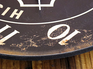 ルート66(ROUTE66)掛け時計/ブラック3