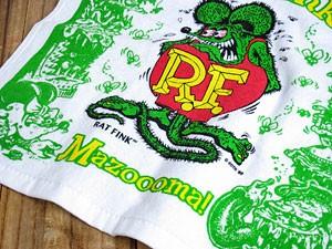 ラットフィンク(RAT FINK)ハンドタオル/グリーン3