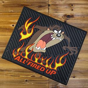 タズマニアンデビル/カーマット(ラバーマット)/ALL FIRED UP/後部座席用1