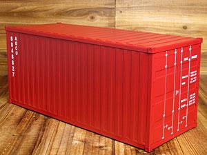 海上コンテナ型マルチ収納ボックス/ダークレッド1