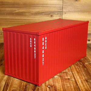 海上コンテナ型マルチ収納ボックス/ダークレッド4