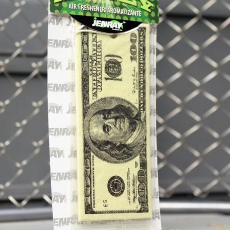 100ドル札エアフレッシュナーの詳細