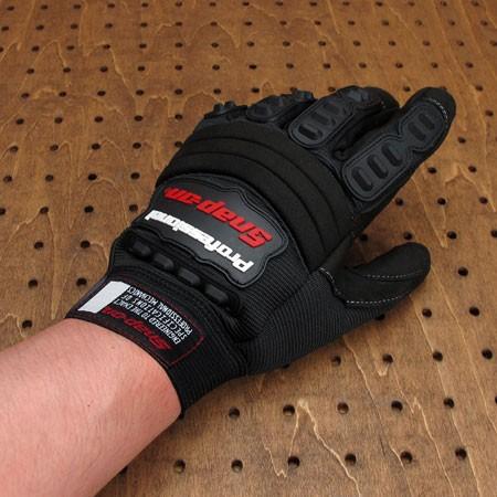 スナップオン(Snap-on) メカニックグローブ(手袋) ブラックの使用例