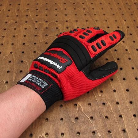 スナップオン(Snap-on) メカニックグローブ(手袋) レッドの使用例