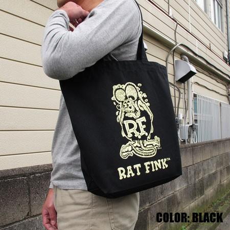ラットフィンク(Rat Fink) トートバッグ コットンキャンバスの使用例