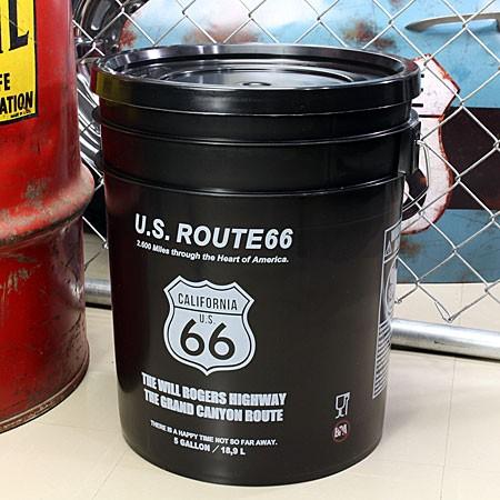 ルート66(ROUTE66) バケツ フタ付き 約19リットル