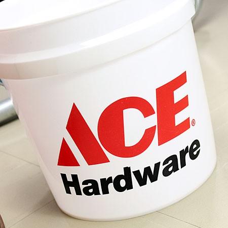 アメリカンバケツ エースハードウェア(ACE Hardware) 約7.5リットル サイズSのフロント