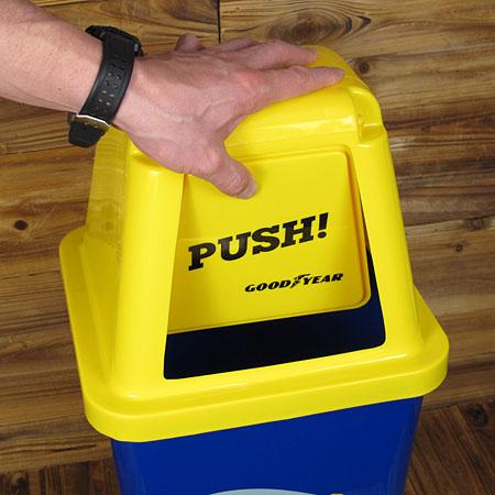 グッドイヤー(GOOD YEAR) ゴミ箱 20L3