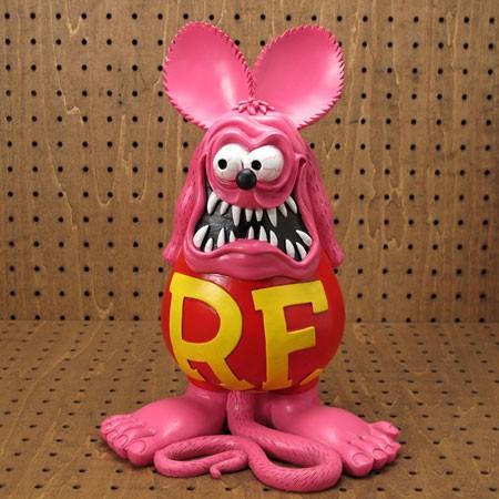 ラットフィンク(RAT FINK) フィギュア オールドビッグスタチュー ピンク1