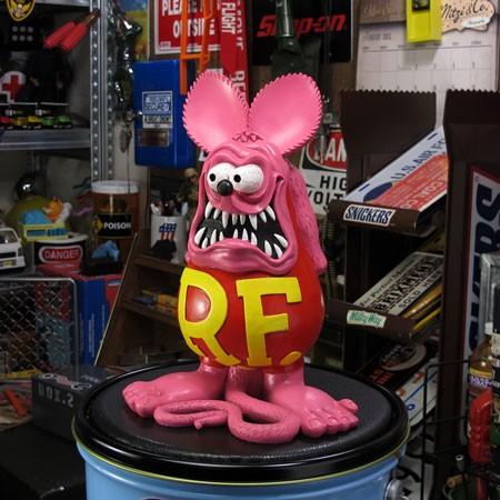 ラットフィンク(RAT FINK) フィギュア オールドビッグスタチュー ピンク5