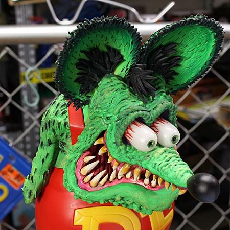 ラットフィンク フィギュア RAT FINK 8ボール DUNKの顔