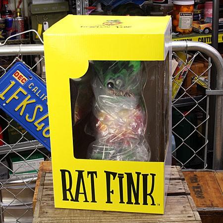ラットフィンク フィギュア RAT FINK 8ボール DUNKの外装