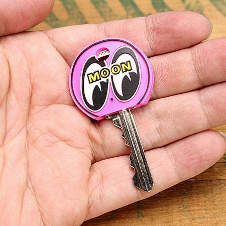 ムーンアイズ キーキャップ(カバー) MOONEYES アイボール ピンクの使用例