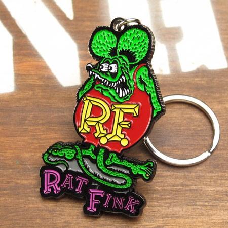 ラットフィンク メタルキーホルダー Rat Fink