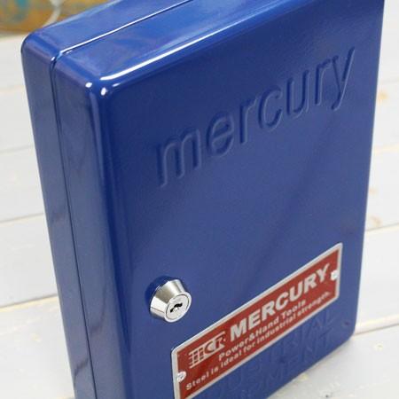 キーボックス カギ収納ケース マーキュリー ネイビーの上部