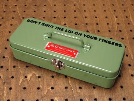 マーキュリー(MERCURY) ミニツールボックス(工具箱) グリーン1