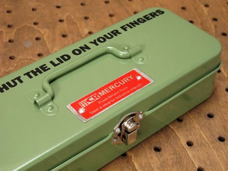 マーキュリー(MERCURY) ミニツールボックス(工具箱) グリーン2