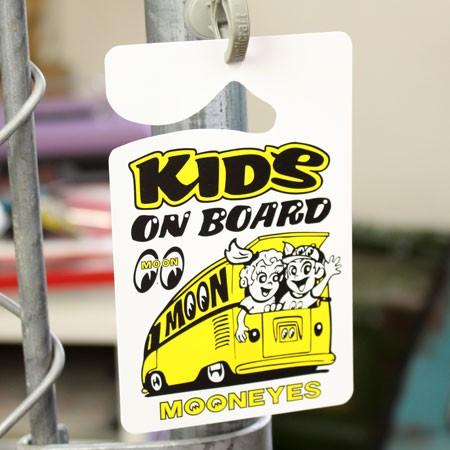 ムーンアイズ パーキングパーミット KIDS ON BOARD