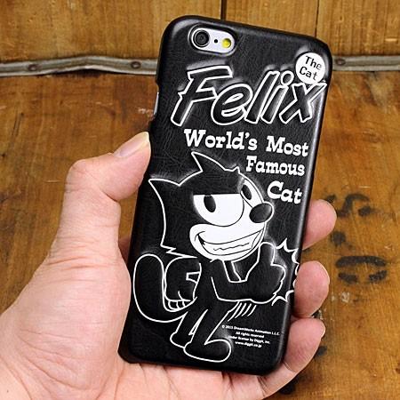 フィリックス・ザ・キャット iPhone6/6S専用ケース(カバー) FELIX THE CAT 3Dレザー(合皮) GOODの使用例