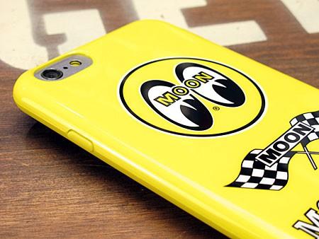 ムーンアイズ iPhone6/6Sケース(カバー) MOONEYES ソフトジャケットの上部