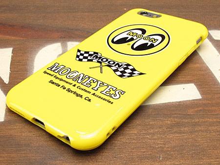 ムーンアイズ iPhone6/6Sケース(カバー) MOONEYES ソフトジャケットの下部
