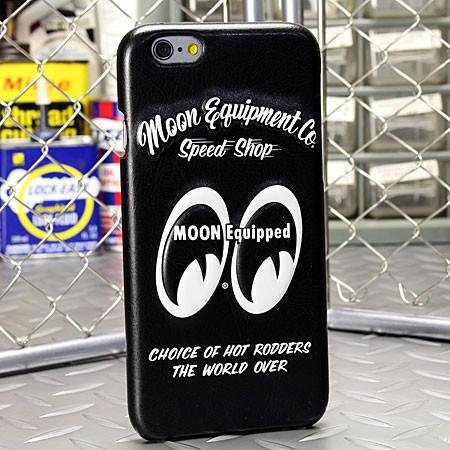 ムーンアイズ iPhone6/6Sケース(カバー) MOONEYES レザー製 3Dジャケット