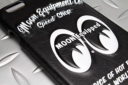 ムーンアイズ iPhone6/6Sケース(カバー) MOONEYES レザー製 3Dジャケットの詳細