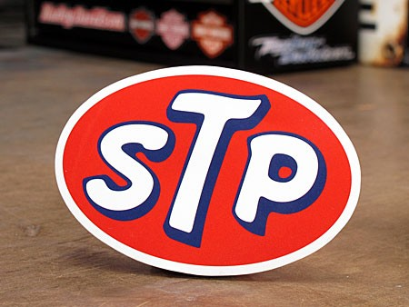 ステッカー STP OIL