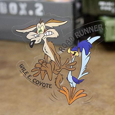 ロードランナー&ワイリー・コヨーテ ステッカー ルーニー・テューンズ Rの使用例