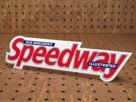 アメリカンマガジンブランドステッカー スピードウェイ(Speedway)