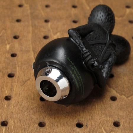 ラットフィンク(Rat Fink) フィギュアシフトノブ ブラック2