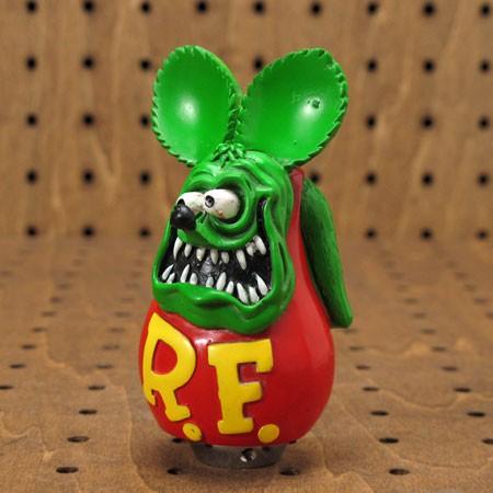 ラットフィンク(Rat Fink) フィギュアシフトノブ グリーン1